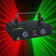 Quality red & purple four heads digital music party laser light good for rave dance wholesale
