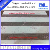 Buy cheap Propular Embroidery Zebra Blinds with 250cm width from wholesalers