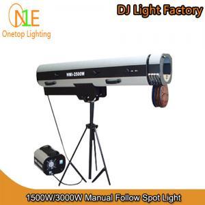 Quality Stage Light 1500W&3000W Manual Follow Spot Light DJ Light Factory wholesale
