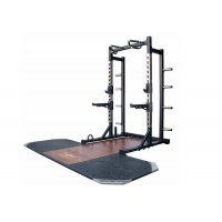 Quality 600kg Weight Bench Squat Rack With Weightlifting Platform Fitness Equipment wholesale
