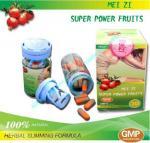 Quality Meizi Super Power Fruits Botanical Natural Slimming Capsule For Fat Burning wholesale