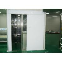 Quality Hidden Automatic Air Shower Tunnel , Air Shower System For Class 100 Clean Room wholesale