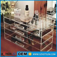 Quality Acrylic cosmetic makeup organizer/ makeup brush display/ makeup brush holder wholesale
