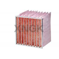 Quality Glass Fiber Pocket Air Filter F7 F8 F9 Efficiency Industrial Application wholesale