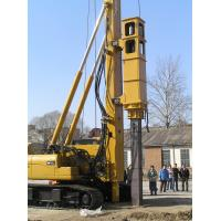 Quality TH -60 Hydraulic Pile Rig Piling Machinery with Yellow Color and Sinovo Brand wholesale
