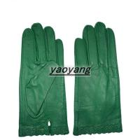 China 2015 new style and fasion and good quality ladies leather gloves on sale