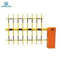 China Brushless DC Motor 3 Fence Arm Parking Barrier Gate Wireless Remote Control on sale