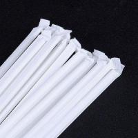 Quality White Kraft Paper Wrapped Paper Straws Convinent Wedding Paper Straws wholesale