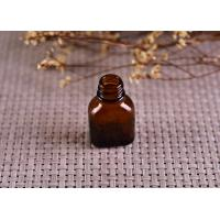 Quality Color Coating Amber Glass Cosmetics Essential Oil Bottle With Dropper wholesale