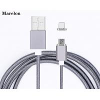 Fast Charging Magnetic USB Data Cable Micro 8 pin USB Cable for Iphone / Xiaomi