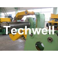 Quality Fully Automatic Combined Steel Metal Slitting Cutting Machine With Control System wholesale