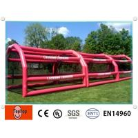 Quality Airtight Inflatable Batting Cages With Customized 60 Feet For Backyard wholesale