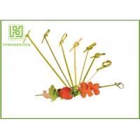 Quality Healthy Bbq Vegetable Skewers , Yakitori Roasting Wooden Meat Skewers For Party wholesale