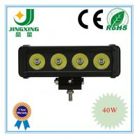 China 24v 40w led light bar driving lights on sale