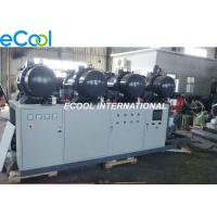 Quality Low Noise PLC Refrigeration Screw Compressor Unit 840HP High Temperature cold storage wholesale
