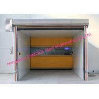 Quality PVC Fabric High Speed Lifting Doors With Radar Sensors Vertical Rising Door With CE Certification wholesale