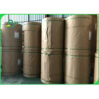 China 60gsm 70gsm 80gsm 120gsm Bleached White Kraft Paper Roll Food Safe FSC FDA EU ISO on sale