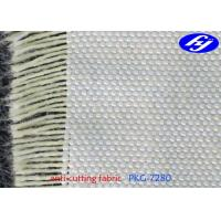 China Thin Kevlar Aramid Fabric Plain Woven Slash Resistant Clothing With 0.48MM Thickness on sale
