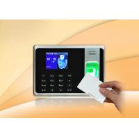 China 0.01% FRR Li SSR Report Attendance Fingerprint Clocking Machine on sale