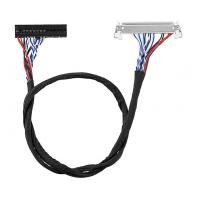 Quality 8 Bit FIX 30 Pin LVDS Cable Assembly For 17-26 Inch LCD LED Panel Controller wholesale