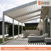 Quality Durable White Aluminum Attached Pergola Wall Mounted Style For Window Of Office wholesale