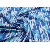 China Sublimation Heat Transfer Polyester Spandex Fabric Geometric Pattern Design on sale
