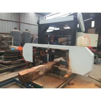 Buy cheap MJ1000D Band Saw Mill Diesel Engine or Gasoline Engine Portable Horizontal Band Sawmills from wholesalers