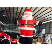 Quality Customized Person usd Inflatable Holiday Decor outdoor , inflatable santa claus character wholesale