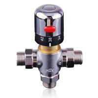 China hot water mixing valve 3/4 inch male thread on sale