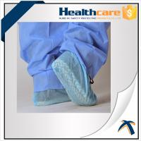 China Non Skid Disposable Shoe Covers / Medical Booties Shoe Covers Breathable 35gsm on sale