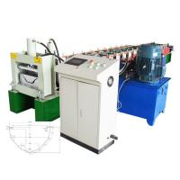 China Automatic Gutter Roll Forming Machine / Gutter Making Machine For Waterproof Construction on sale