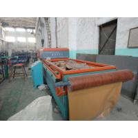 Two Sides Cold Pressure Formed WPC Door Machine , Seamless MgO Board Production Line