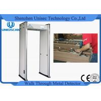 Quality Anti Interference Shockproof Walk Through Metal Detector Door For High Rise Building wholesale