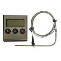 Quality Stainless Steel BBQ Meat Instant Read Thermometer With Large LCD Display wholesale