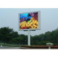 Quality 10000dots / sqm LED Video Billboards Easy Maintain LED Outdoor Advertising Board wholesale
