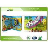 Quality Light Coated Paper Hardcover Toddler Board Books with Offset Printing  21 * 21cm Size wholesale