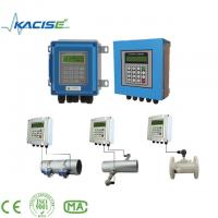 Quality Clamp On Drinking Water / Distilled Water Flowmeter wholesale