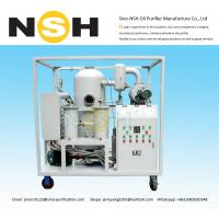 China High Efficiency Vacuum Transformer Oil Filter , Vacuum Oil Purification Machine oil purifier oil treament oil recycling on sale