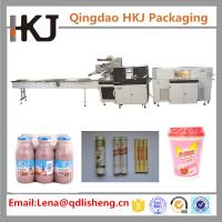 China Reciprocating Shrink Film Packaging Machine , Biscuit Wrapping Machine 100 Bags / Min on sale