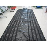 Quality Side Curtains PVC Coated Tarpaulin Abrasion Resistant Customizable Size wholesale