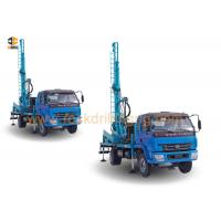China Hard Rock DTH Drilling Water Well Drilling Equipment Rig Mounted On 4 X 2 Truck on sale