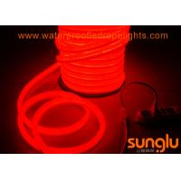 Quality Red 5050 60 LED / M 12v Waterproof LED Light Strips PVC Body Material For Swimming Pool wholesale