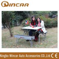 Quality Aluminum Folding Outdoor Camping Tables Expandable for picnic wholesale