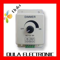Quality Waterproof IP67 LED Dimmer 8A Of LED Lighting Controllers DC 12V For Strip Light wholesale