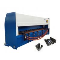 China Vertical Sheet Grooving Machine Semi - Closed Loop Control For Door Processing on sale