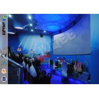 Quality Funny Cartoon Cute 5D Theater System 360 Degree Screen With Motion Simulator Film wholesale