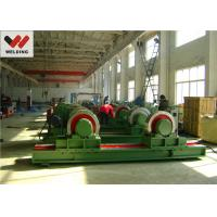Fit Up And Assembly Pipe Welding Rotator , Bolt adjustable Welding Turning Roller HGK10 For Tank