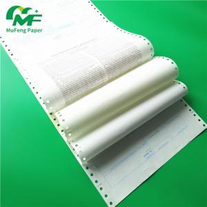 Quality China Manufacturer Secret Envelope Carbonless Paper Pin Mailer Payslip Ncr Atm Computer Paper wholesale
