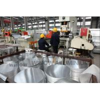 Buy cheap 0.4 - 6.0mm Thickness Aluminium Circle Plate Cookware Aluminum Disc Silver Color from wholesalers