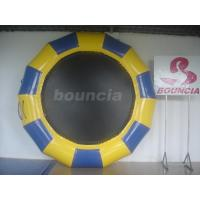 Quality Professional Made Fabric Inflatable Water Trampoline for Water Park wholesale